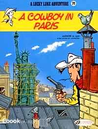 Télécharger ebook gratuit A Lucky Luke Adventure Tome 71 (A Cowboy in Paris)