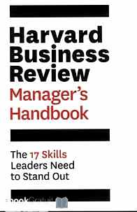 Télécharger ebook gratuit Harvard Business Review Manager's Handbook – The 17 Skills Leaders Need to Stand Out