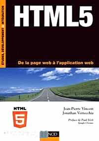 Télécharger ebook gratuit HTML 5 – De la page web à l'application web