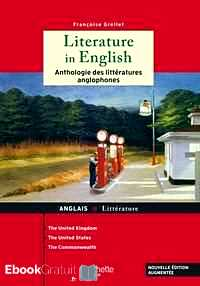 Télécharger ebook gratuit Literature in english – Anthologie des littératures anglophones