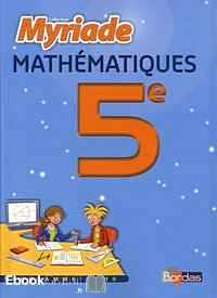 Télécharger ebook gratuit Maths 5e Programme 2010 – Le manuel