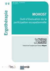 Télécharger ebook gratuit MOHOST – Outil d'évaluation de la participation occupationnelle