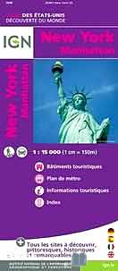 Télécharger ebook gratuit New-york/Manhattan – 1/15 000