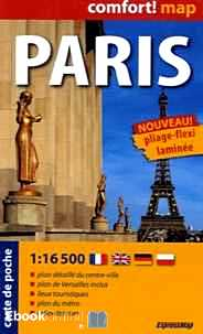 Télécharger ebook gratuit Paris – Carte de poche, 1/16 500