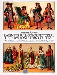 Télécharger ebook gratuit Racinet's Full-Color Pictorial History of Western Costume