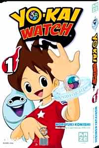 Télécharger ebook gratuit Yo-Kai Watch Tome 1