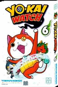 Télécharger ebook gratuit Yo-Kai Watch Tome 6 (Avec une carte postale Yo-Kai Watch !)